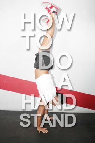 How to Do a Handstand - screenshot