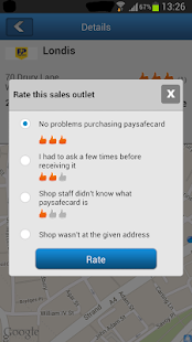 The paysafecard app - screenshot thumbnail
