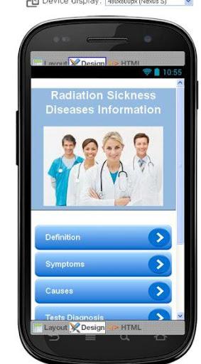 Radiation Sickness Information