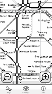Colourblind Tube Map- screenshot thumbnail