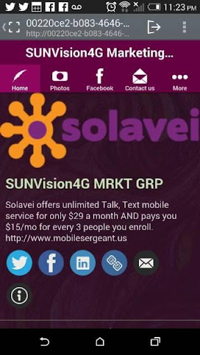 SUNVision4G Marketing GRP