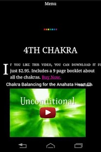Daily Chakra Balancing Test- screenshot thumbnail