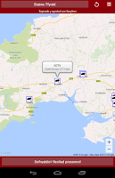 Screenshot of Traffic Wales Traffig Cymru
