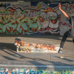 Up! by Neil Jayaratne - People Street & Candids ( skateboarding, london, d800, southbank, action, summer, nikon, street photography )