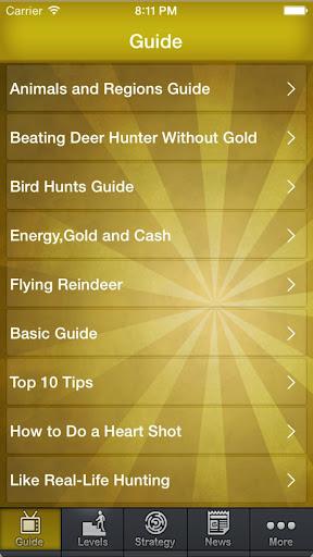 Guide Cheat For Deer Hunter