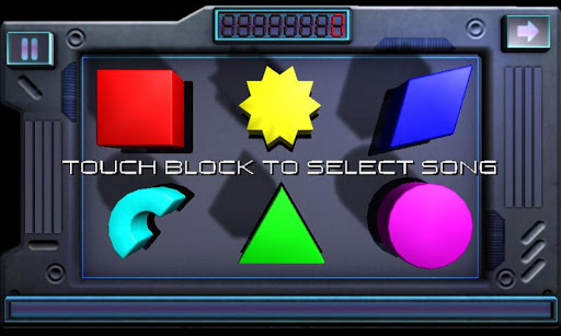 Playing Blocks 3D - Music Game