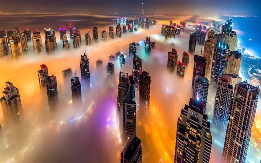 5D城市夜景主题