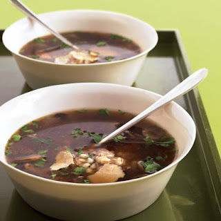 Quickest Mushroom-Barley Soup.