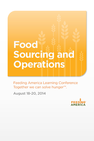Food Sourcing Operations '14