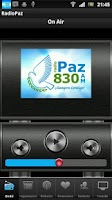 Screenshot of RADIO PAZ 830 AM