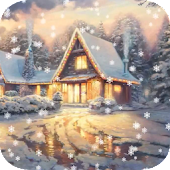 Snow Animated Live Wallpaper