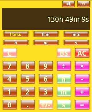 時間電卓 TCalc 時間計算変換