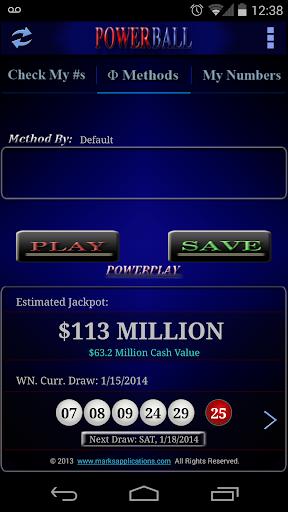 Powerball lottery Free