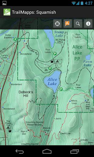 TrailMapps: Squamish