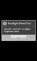 Screenshot of Backlight Bleed Test