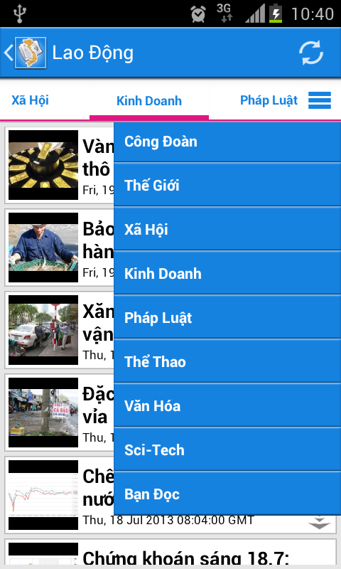 Viet News- screenshot