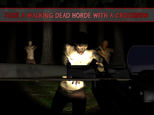 3D Zombie Crossbow Shooter
