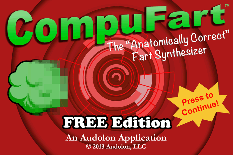 CompuFart FREE: Fart Synthesis- screenshot