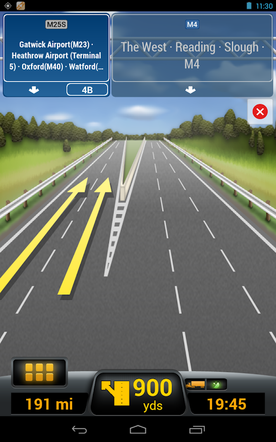 CoPilot Truck DACH - screenshot