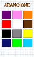 Screenshot of Colors in italian