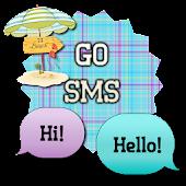PlaidBeach/GO SMS THEME