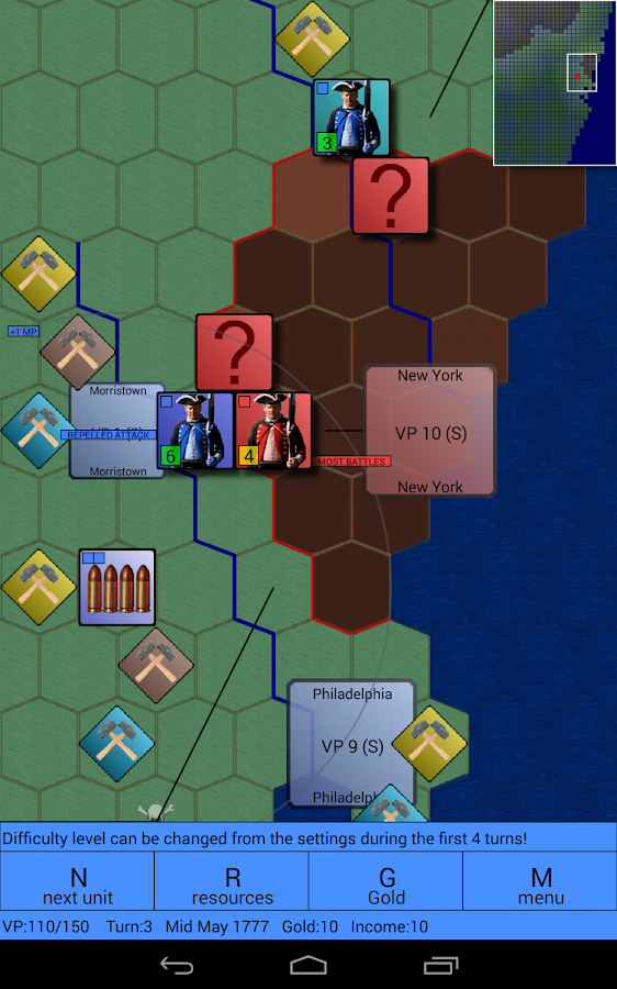 American Revolutionary War - screenshot