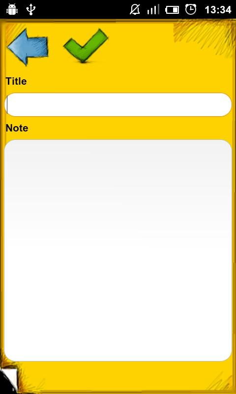 Simple NotePad - screenshot