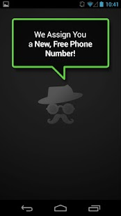 Mustache Anonymous Texting SMS - screenshot thumbnail