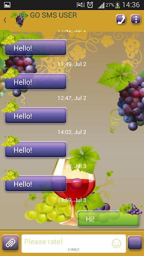 GO短信加强版葡萄