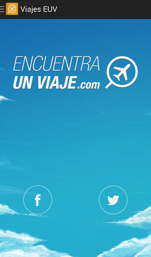 Viajes EUV- screenshot