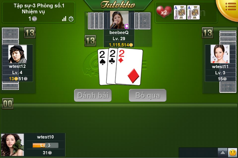 Ongame Tiến Lên (game bài) - screenshot