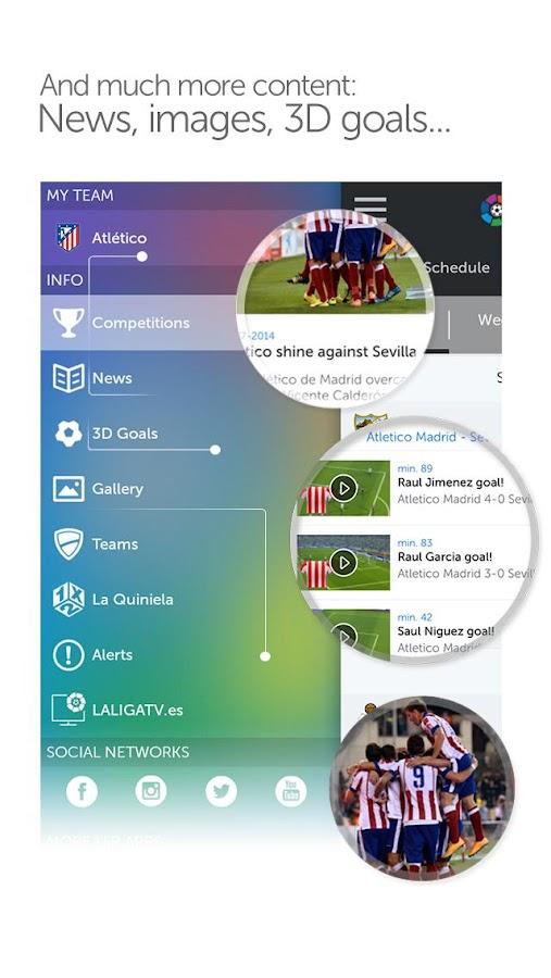 La Liga - Official App - screenshot
