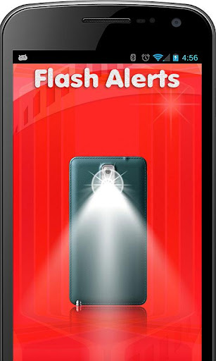 Flash Alert for Call and SMS