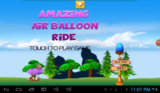 Amazing Air Balloon Ride