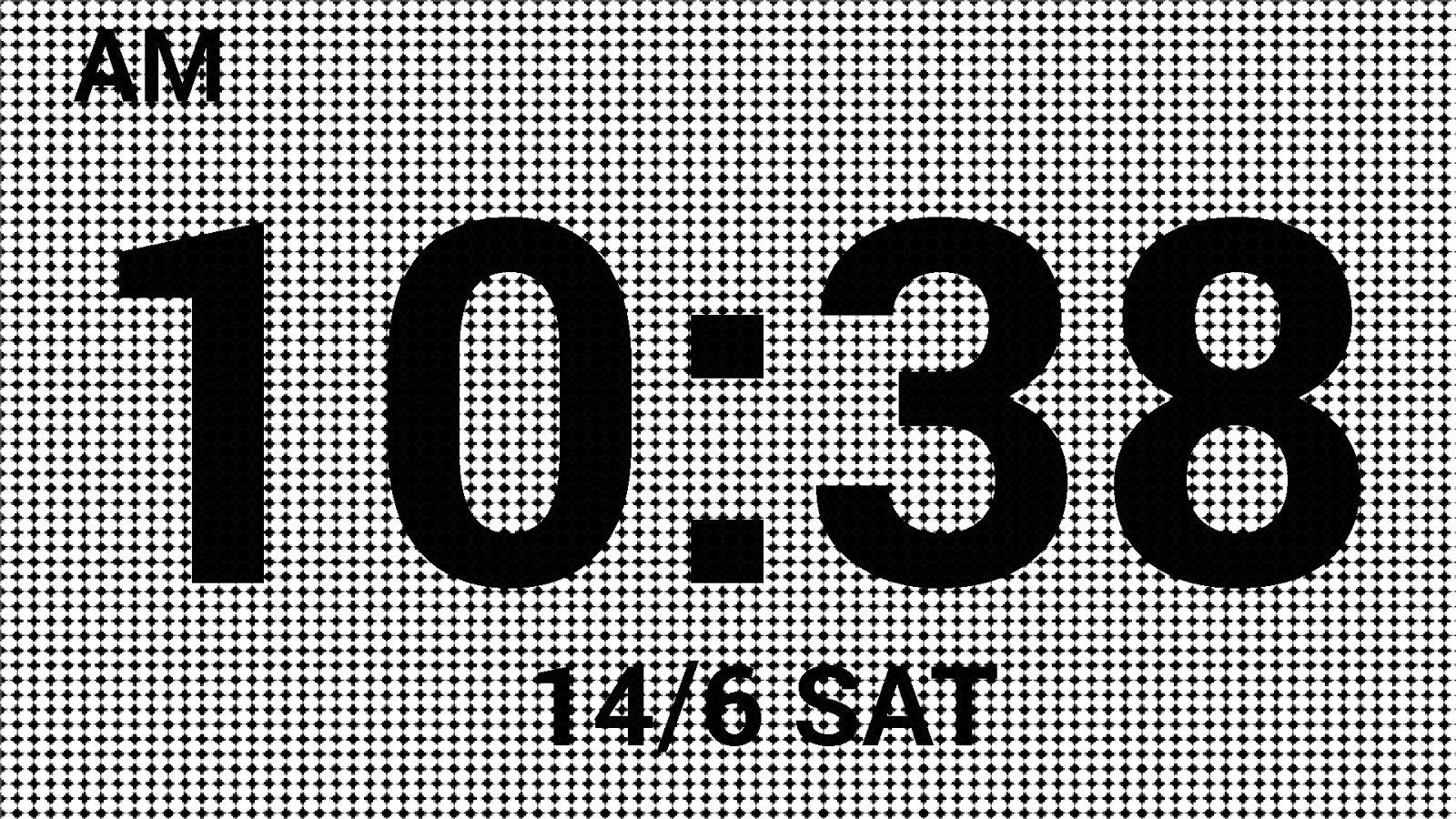 Image result for digital clock wallpaper white