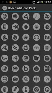 Holler! wht Icon Pack - screenshot thumbnail