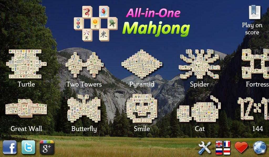 All-in-One Mahjong - screenshot