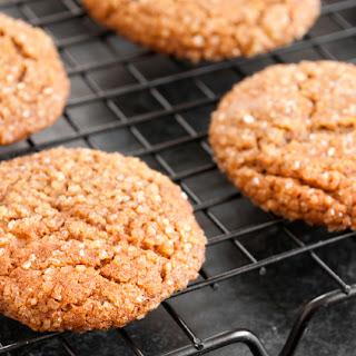 Gluten Free Gingersnaps (or Ice Cream Sandwiches)