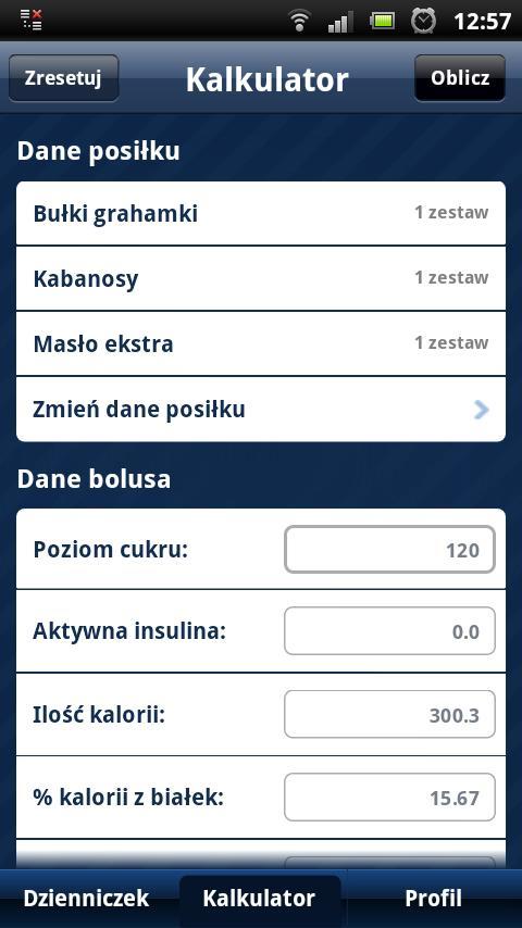 Nasza Cukrzyca - screenshot