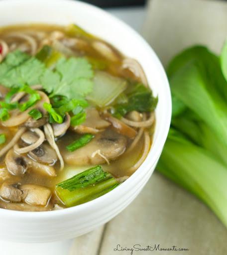 Chicken Soba Noodle Soup