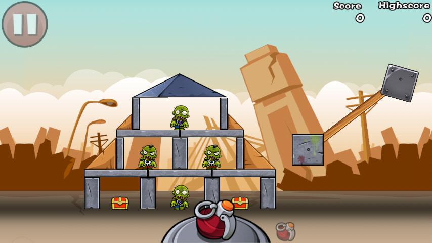 Bomb The Zombies- screenshot