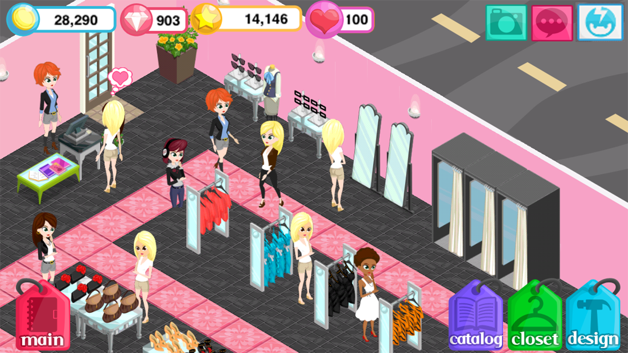 Free Online Fashion Boutique Shop Games