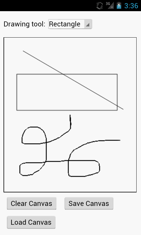 Drawing Lines With Canvas : Canvas draw android apps on google play