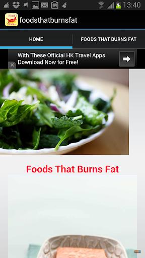 foods that burns fat