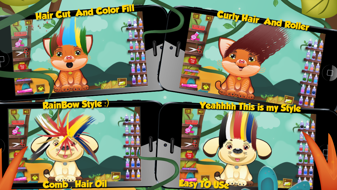 Animal Hair Salon- screenshot