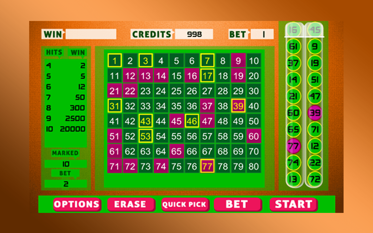 Keno Bingo- screenshot