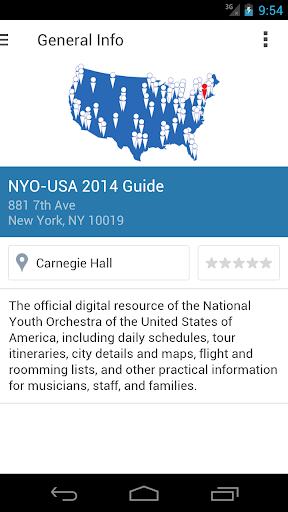 NYO-USA 2014 Guide