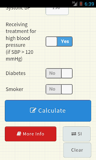 【免費醫療App】ASCVD Risk Calculator-APP點子