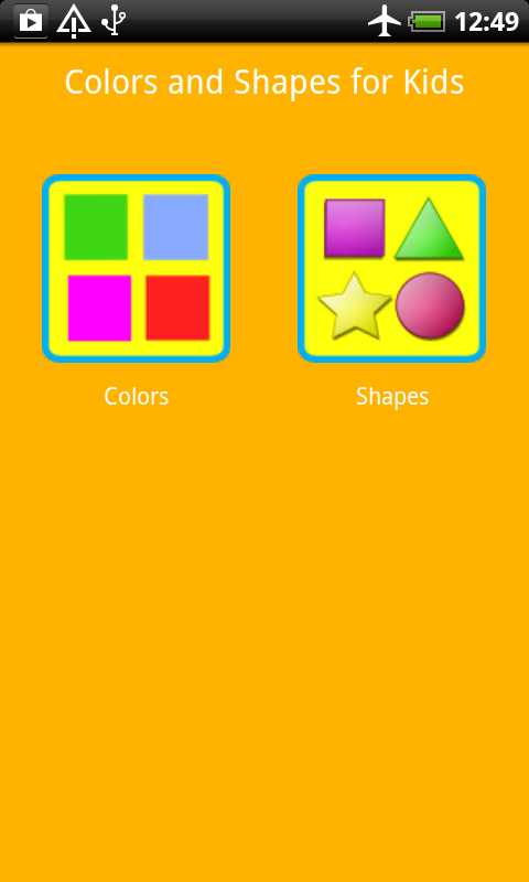 Colors and Shapes for Kids- screenshot
