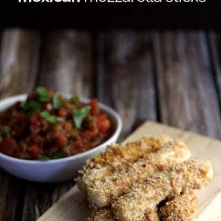 Mexican Mozzarella Sticks